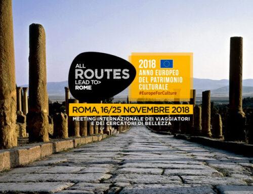 Tutto pronto per la terza edizione di All Routes lead to Rome