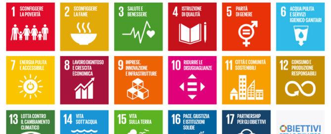 SDG - obiettivi sviluppo sostenibile