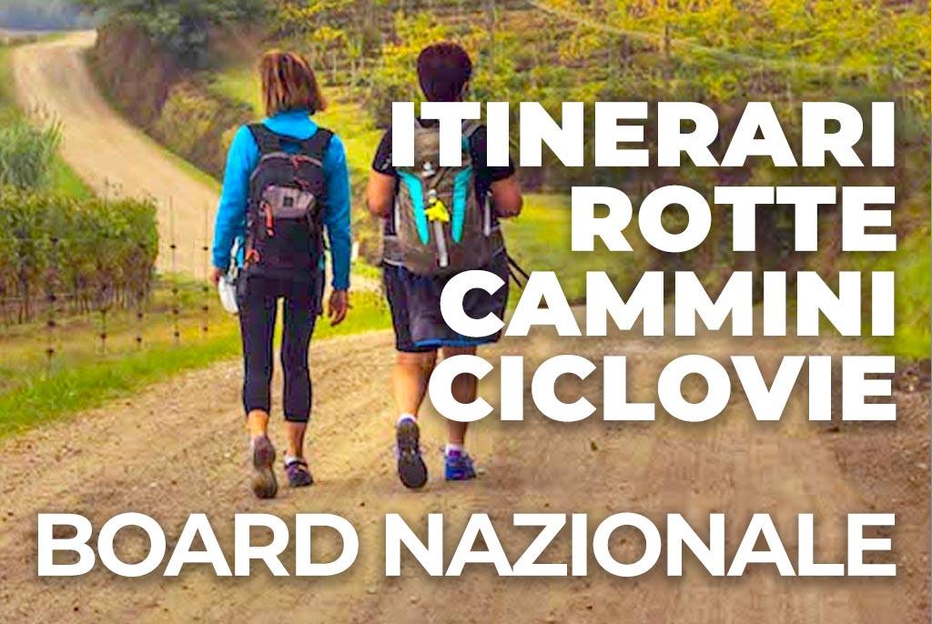 board nazionale degli itinerari