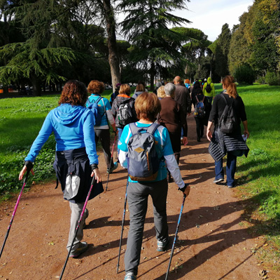 Camminare nei Parchi di Roma