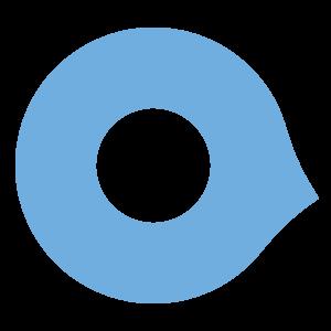 Logo (pin azzurro)