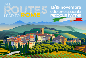 All Routes lead to Rome - Meeting 2021 - Piccole Patrie